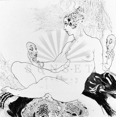 Norman Lindsay - Which Mask?