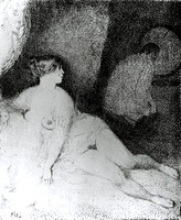 Norman Lindsay - The Boudoir